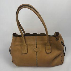 Tod's caramel handbag